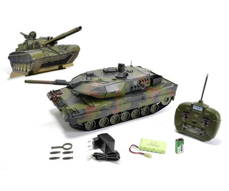 1:16 Leopard 2A5, 27 MHz, 100 RTR