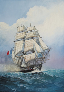 1:200 French Frigate Acheron