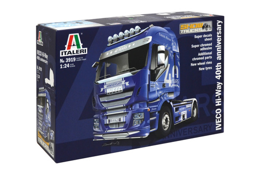 1:24 IVECO HiWay - 40. Iveco Anniversary