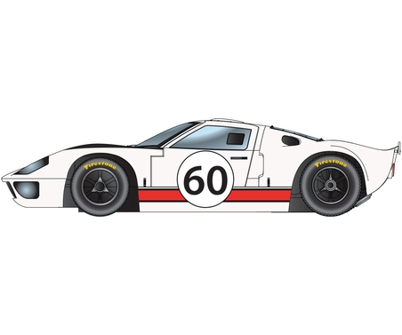 1:32 Ford GT40 - LeMans 1966 60