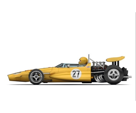 1:32 Legends - McLaren M7c 27