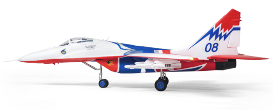 Arrows MiG-29 906mm Elektromotor Jetmodell PUP powered by MODSTER