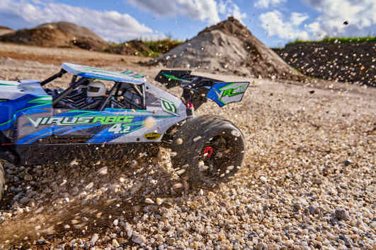 Carson Virus Race 4.2 Elektro Brushless Buggy 4WD 1:8 RTR