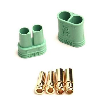 Castle 4mm Goldstecker Set