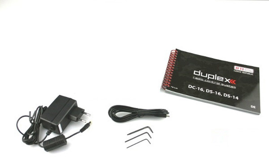 DC-24 duplex 2.4 GHz Jeti Carbon Line Multimode