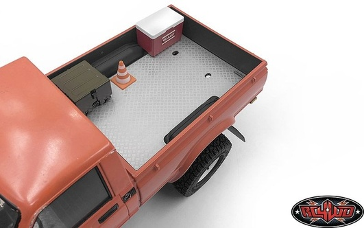 Diamond Plate Rear Bed for RC4WD Trail Finder 2 RTR RC4WD w/Mojave II Body Set