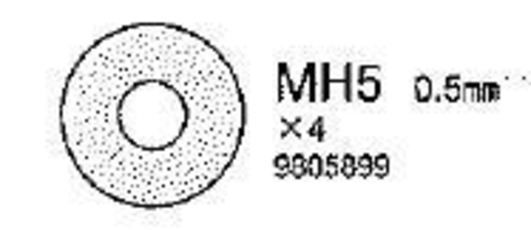 Distanzring 0,5mm (MC9)(5)