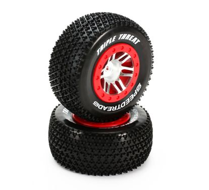 Dynamite Speedtreads Triple Threat SC MNTD SLHR4X4FRECX Rad(2)