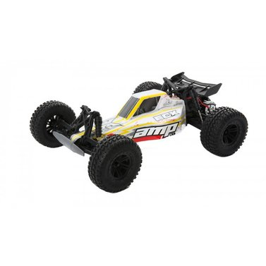 ECX AMP MT 1:10 2WD Monster Truck weiss / rot RTR INT