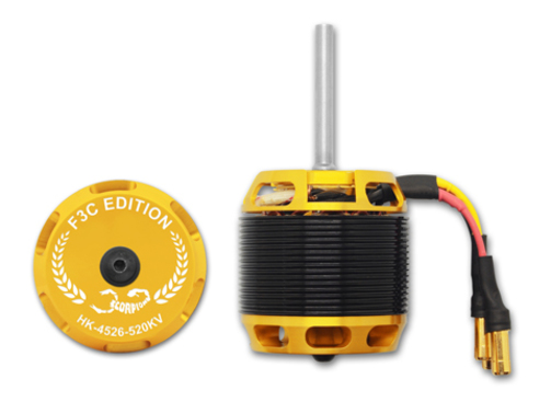 Elektromotor HK-4526-520KV Scorpion F3C  (6mm Welle)