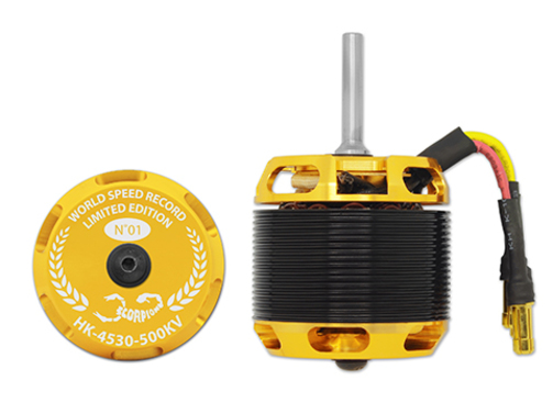 Elektromotor HK-4530-500KV  Scorpion  XL (6mm Welle)