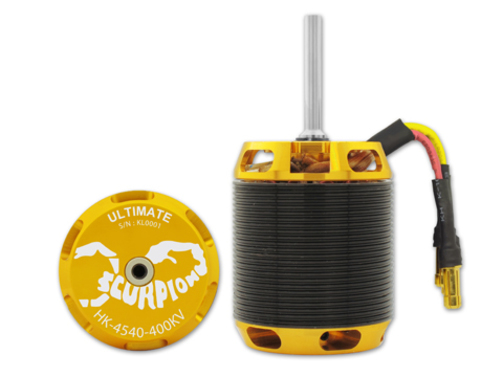 Elektromotor HK-4540-400kv Scorpion  Ultimate (8mm Welle)