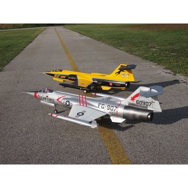 F104 Starfighter EDF 740 mm ARTF - Silber USA Set + Gyro