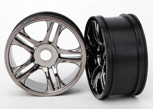 Felgen Split-Spoke black chrome hinten (2)