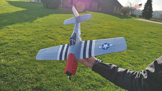Flite Test Mighty Mini Mustang WR 622 mm