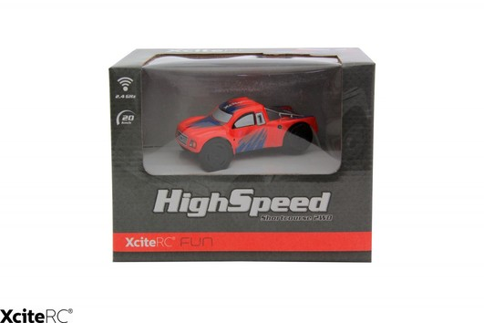 High Speed Shortcourse 2WD RTR 1:32 Rot