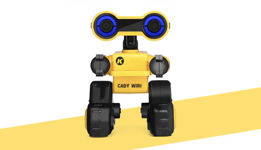 Intelligenter RC-Roboter 2,4GHz, gelb