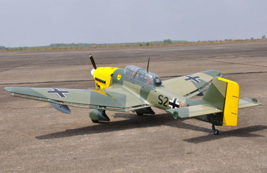 Ju-87B Stuka 1920 mm ARF Black Horse