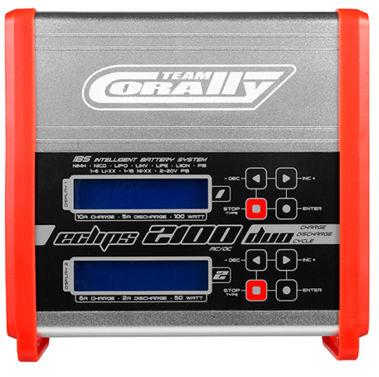 Ladegerät AC/DC Eclips 2100 Duo Charger Team Corally
