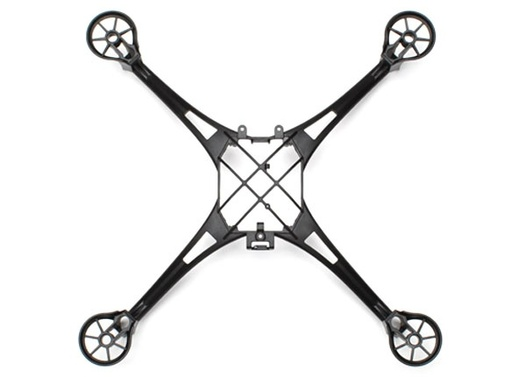 Latrax Alias Main frame (black)/ 1.6x5mm BCS (selftapping) (4)