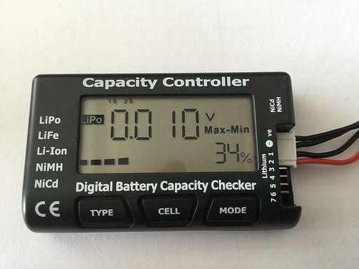 LiPo Checker - HT Digitaler Akku / Batterie Tester
