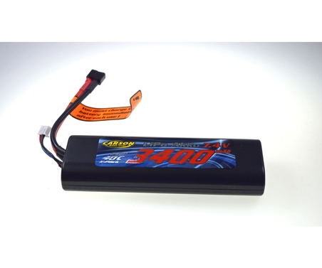 LiPo Pack Akku Racing Pack 7,4V/3400 mAh LiPo 40C