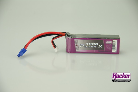 LiPo Pack Hacker TopFuel Power-X 1800-4S
