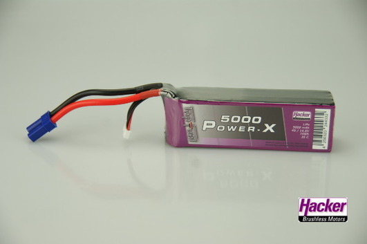 LiPo Pack Hacker TopFuel Power-X 5000-4S
