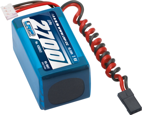 LiPo Pack LRP VTEC LiPo 2700 RX-Pack 2/3A Hump -   RX-only - 7.4V