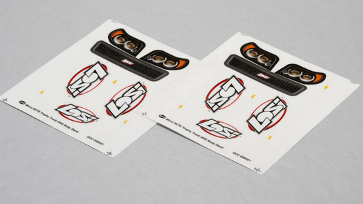 Losi Micro SCTE Sticker Set