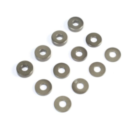 M3 Aluminum Washer Set, Hard Anodized (4ea)