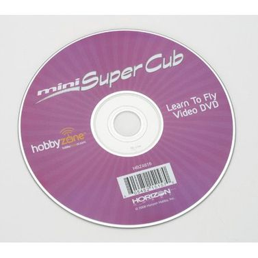 Mini Super Cub Instructional DVD