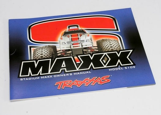 OWNERS MANUAL, S-MAXX