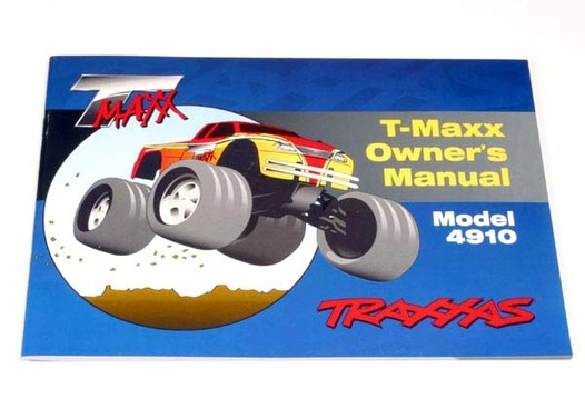 OWNERS MANUAL, T-MAXX