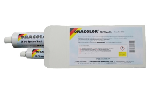 Oracolor 2K-PU-SPACHTEL 300 g (200 g Basis / 100 g Härter)