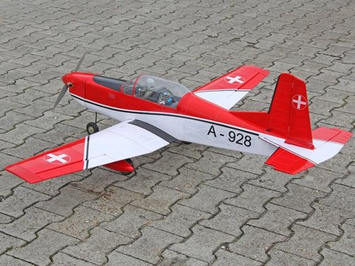 Pilatus PC7 Swiss 1540 mm ARF