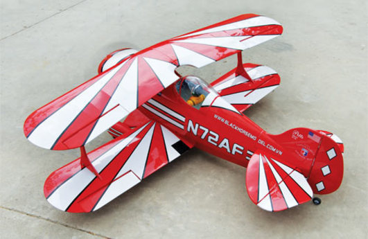 Pitts Special 1500 mm ARF Black Horse