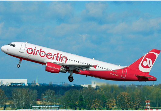 Revell Model Set Airbus A320 AirBerlin 1:144