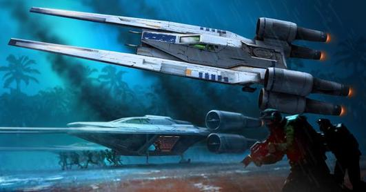 Revell Star Wars Build & Play U-Wing Fighter