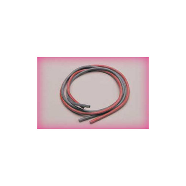 Silikonkabel 3,3 qmm, 1m, rot/sw, 12 AWG