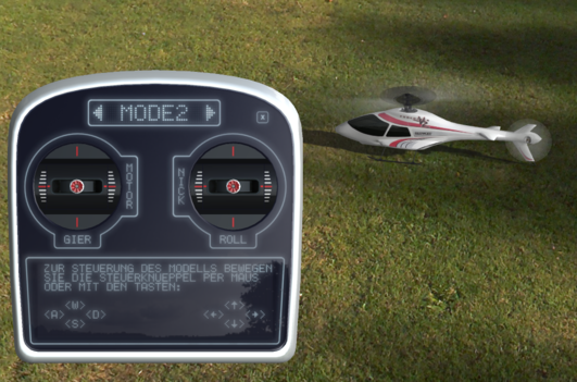 Simulator MULTIflight PLUS Set mit SMART SX Mode 1+3, MULTIflight Stick +PLUS CD
