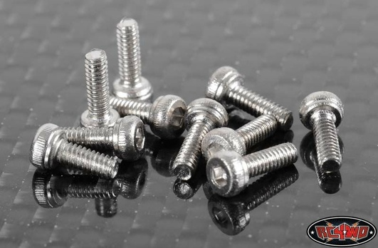 Socket Head Cap Screws M2 X 6mm (10)