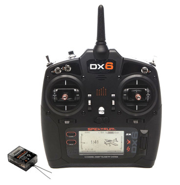 Spektrum DX6 G3 DSMX mit AR6600T (Multimode)