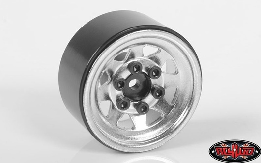 Stamped Steel 1.0 Stock Beadlock Wheels (Chrome)