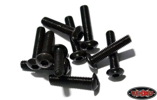 Steel Button Head Cap Screws M3 x 16mm (10)