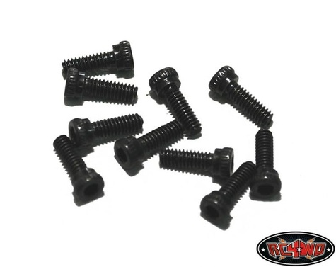 Steel Socket Head Cap Screws M2 X 6mm (10)