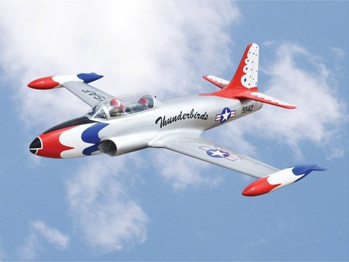 T-33 Thunderbirds ARF 1400mm Black Horse