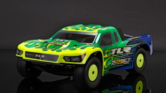 TLR 22SCT 2.0 Race Kit: 1/10 2WD Short Course Truck by LOSI