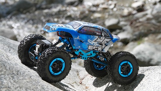 Temper 1:18 4WD Rock Crawler Brushed: RTR INT