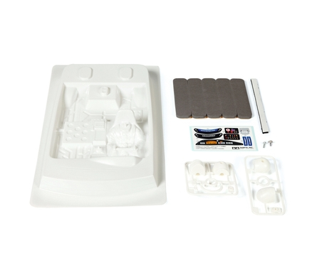 Tourenwagen Cockpit Set Linkslenker 1:10